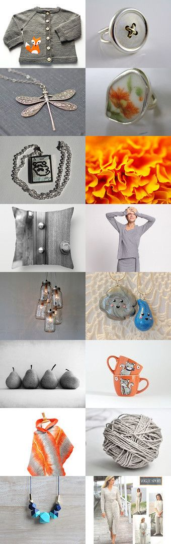 Grey Day by BeLuli Designer on Etsy--Pinned+with+TreasuryPin.com