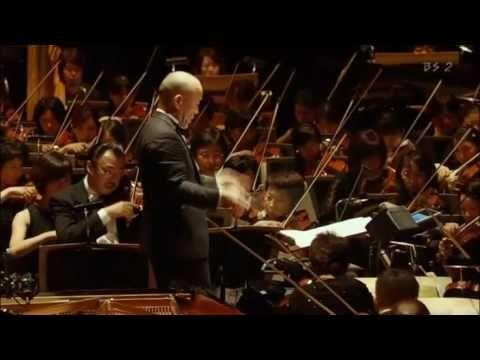 Princess Mononoke - Studio Ghibli 25 Years Concert in Bodukan. Composed and conducted by Joe Hisaishi.