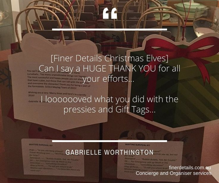 Need last minute help with sourcing, buying, wrapping, delivering Christmas gifts?  #relaxanddelegate #finerdetails Finer Details Concierge and Organiser Service