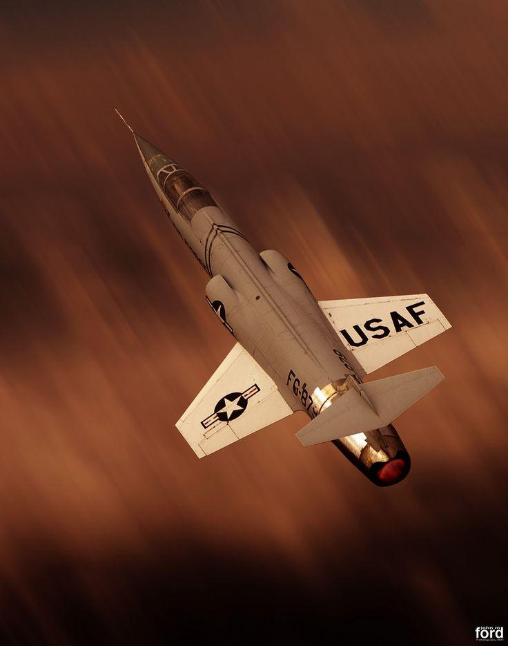USAF F-104 Starfighter...