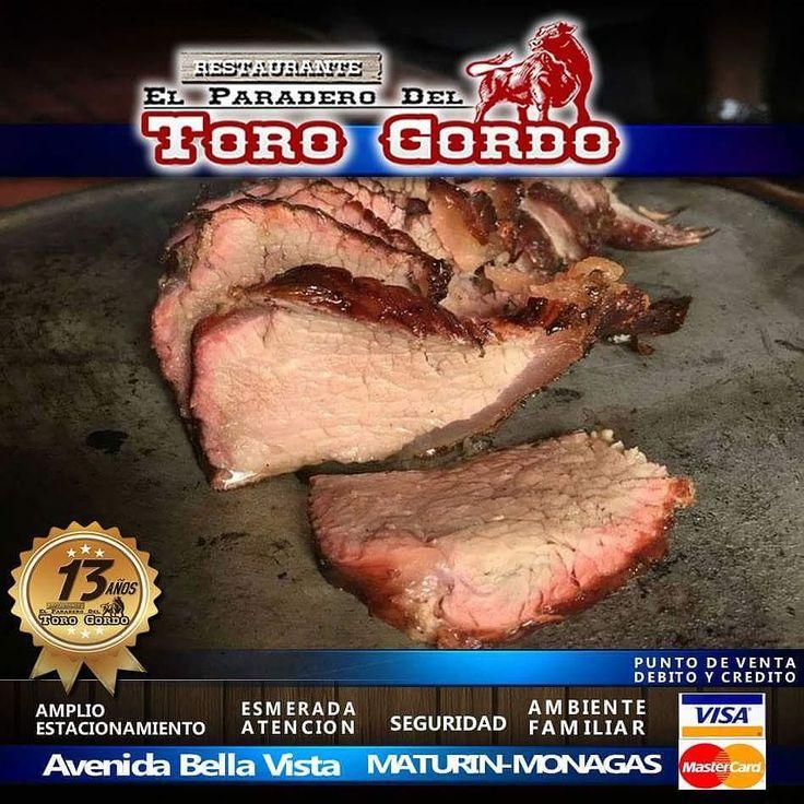 La cita hoy es en @eltorogordo  con una excelente gastronomía criolla #ambienteFamiliar #seguridad #ambienteFamiliar esmerada atención amplio #estacionamiento aceptamos tarjetas de #debito y #credito #visa y #mastercard en #maturin #monagas