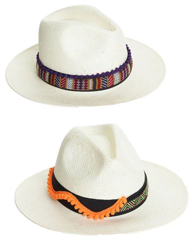 BohoChic http://www.marie-claire.es/moda/accesorios/fotos/sombreros-de-verano-para-cabezas-con-estilo/bohochic