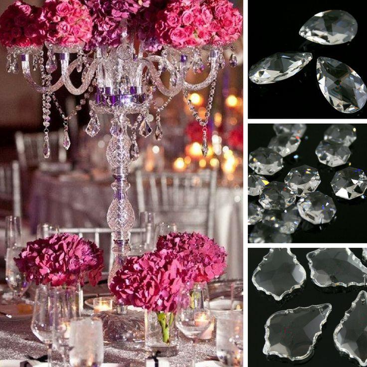 Su #Vetrocristallo trovi anche #centrotavola in #cristallo, da addobbare con composizioni floreali e pendenti in cristallo per far brillare i tuoi eventi.  #weddingplanner #wedding #ideepermatrimoni #decor