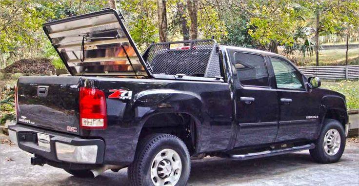 DiamondBack HD truck bed cover on Chevy Silverado