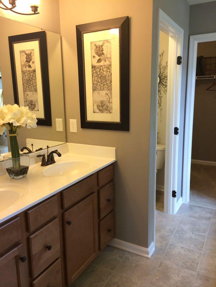 Hall bathroom decorating ideas ryan homes rome pinterest for Bathroom design 9 x 11