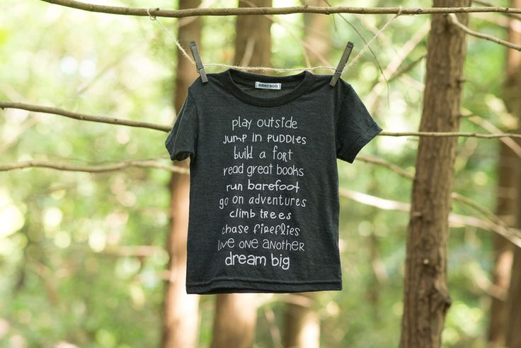 Words to live by. The Forever on Adventure Tee.