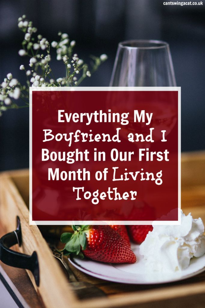 How much does it cost to move in with your partner? It's different for everyone but in this post I run through exactly how much my boyfriend and I spent in our first month of living together. Thinking about moving in with your boyfriend or girlfriend? This might help!