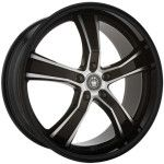 Konig Wheels 27MB AIRSTRIKE Gloss Black with Machined Face