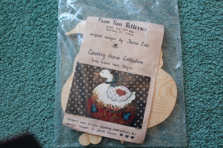 Plum Fun Country Geese Collection Wood Wall Plaque Wooden Craft Supplies Ready To Paint by Creativewings on Etsy