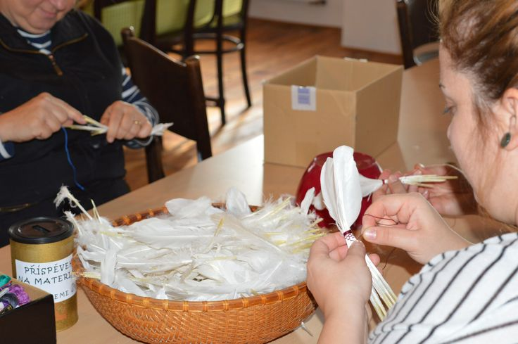 Pravé péřové mašlovačky a jejich výroba