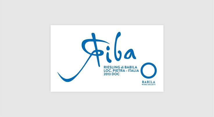 Babila Wine Society label   riba  Happy Brand Makers   food & drink