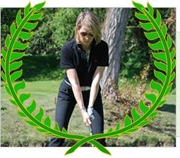 """Maria Stella  Galperti  191 punti Stableford  1° Class. WebGolf Contest 2012  Marzo Aprile 2011  Valtellina Golf Club  30,9 (HCP alla vittoria)    """"Mi piace WebGolf perchè mi da la possibilità di conoscere e sfidare webgolfer, accumunati dalla stessa passione.""""  Maria"""