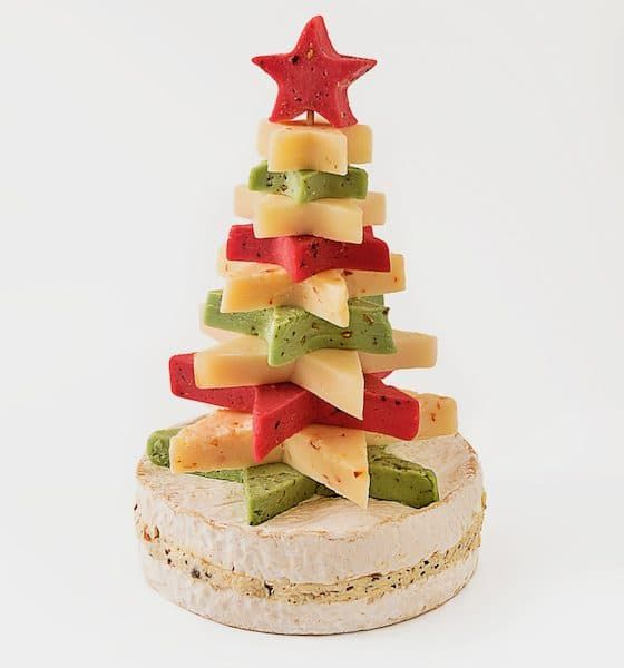 Sapin de Noël en fromage de Tentation Fromages