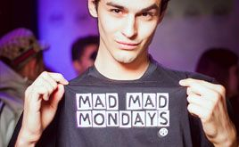 #madmadmonday the best student party in Prague at #kubarlounge
