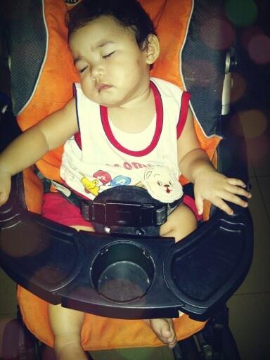Baby karin sleep