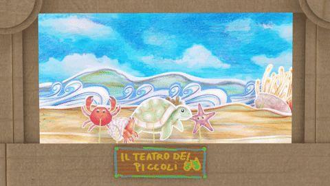 Animali della spiaggia gareggiano! Cartoni animati per bambini Le gare di corsa! Una serie fatta in stile del piccolo teatrino di cartone! Bambini al mare! Ma che anni animali si nascondono nella sabbia? Quale di loro è il più veloce? Stella marina? Granchio? Pa #cartonianimati #spiaggia #animali