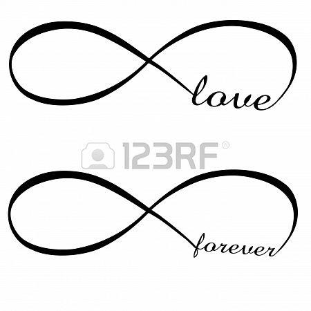 Amor Infinito, Forever Foto de archivo - 17583309