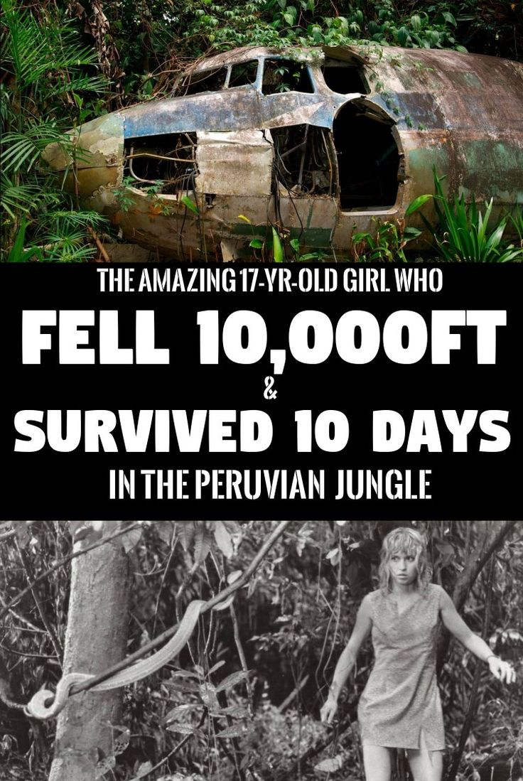Juliane Koepcke: The Girl Who Fell 10,000ft And Survived 10 Jungle Days