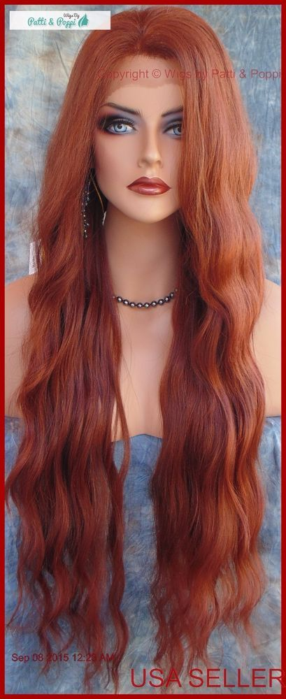 Peruca dianteira do laço Ondulado Longo Ondulado Cor Vermelho Lindo T33.130 new/tags vendedor nos EUA, 190 | Saúde e beleza, Produtos e finalizadores para os cabelos, Perucas e apliques/extensões | eBay!