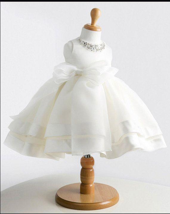 Beautiful Flower Girl Dress Princess Gown Wedding by Beestyledkids