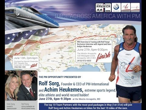 Race Across America with Achim Heukemes! - YouTube More Information at http://6357482.mypmi.biz