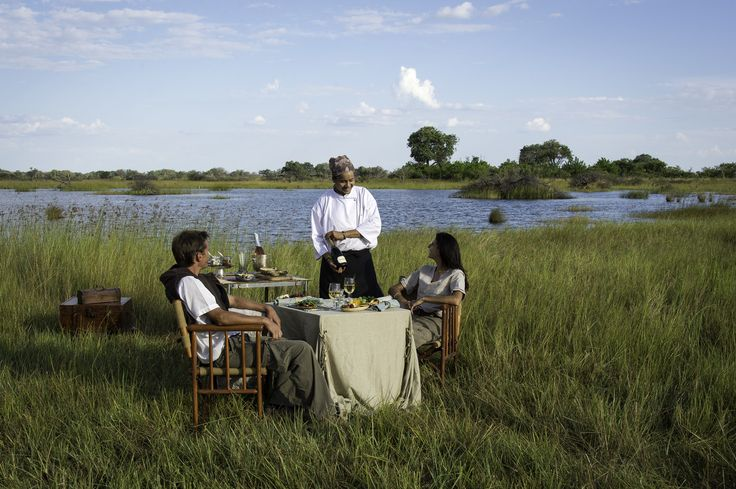 Vumbura Camp in the Okavango Delta certainly knows how to spoil and delight #Botswana