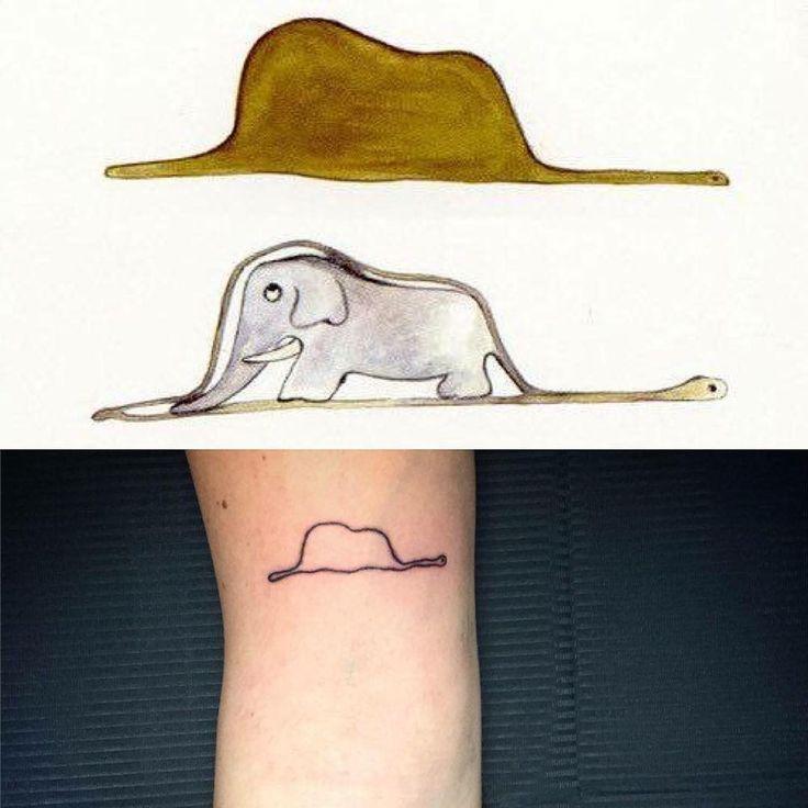 """Il cappello del piccolo principe"" #minimal #piccoloprincipe #elefante #serpente #cappello #tattoo . . .  #tattoos #ink #inked #tattooed #tattoist  #art #design #instaart #instagood #handtattoo #chesttattoo #photooftheday #tatted #instatattoo #amazingink #tattedup #inkedup #tattooartist #tattooflash #verona #tattoostudio #ig_verona #igersverona"