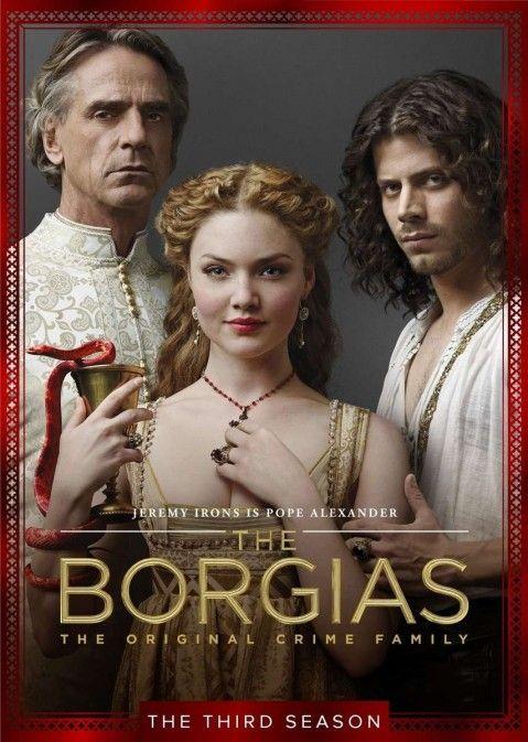 The Borgias la Third Season Dvd Cover Zoom Cast