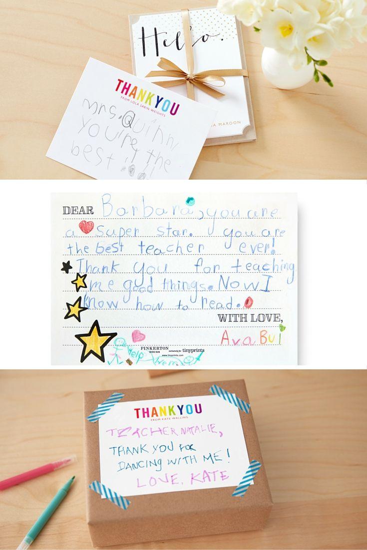 Best 25 Teacher Thank You Notes Ideas On Pinterest Teacher