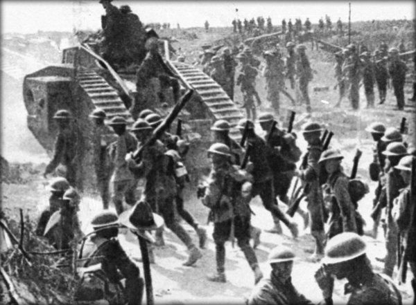 The Western Front and the Birth of Total War