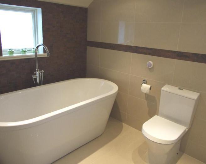8 beste afbeeldingen over beige brown bathroom op pinterest modellen bruine badkamer en - Badkamer modellen ...