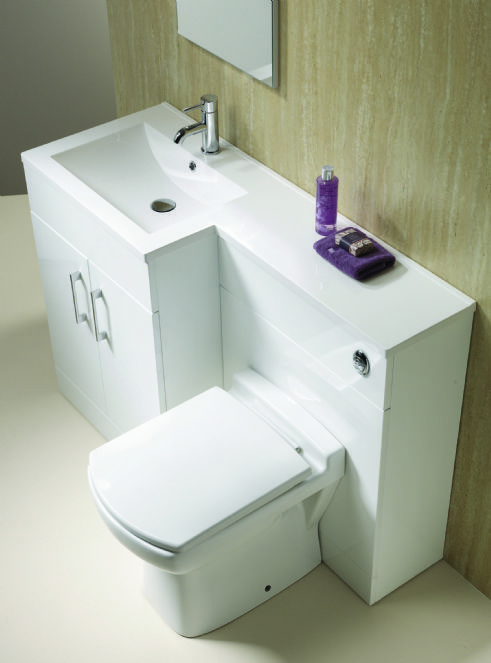 All In One Toilet And WashBasin Combination Water Closet