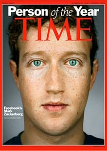 Mark Zuckerberg - like him or hate him, you have to admire what he has built at such a young age