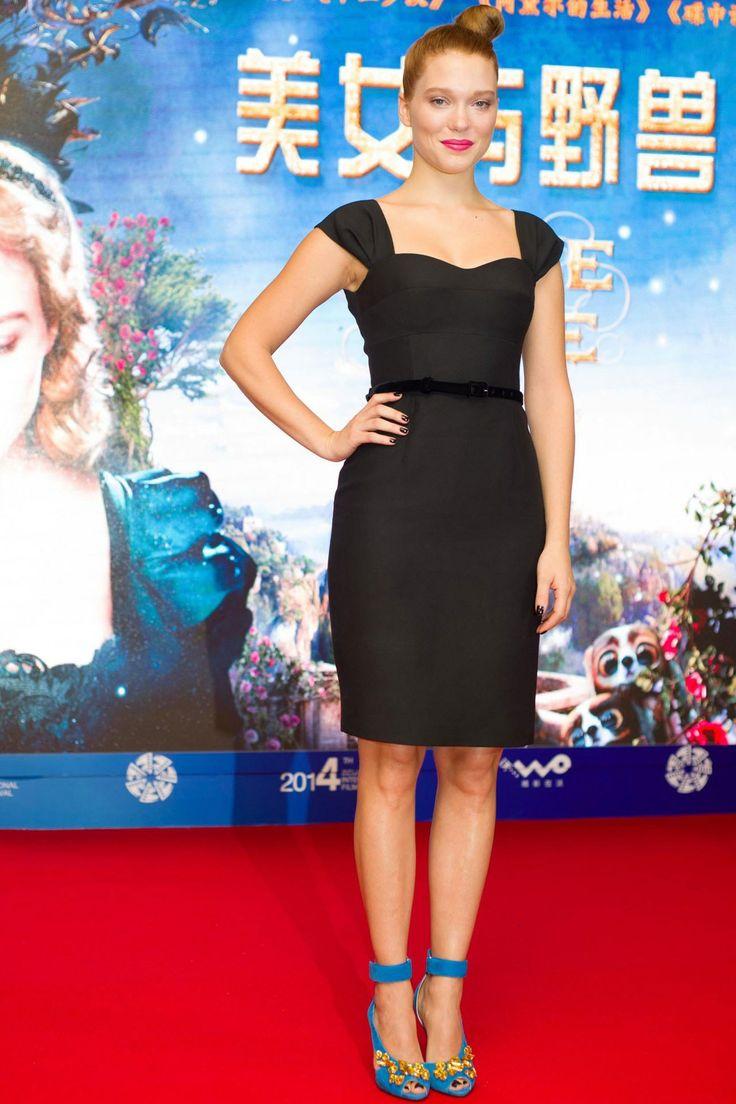 2016 kadin geyimleri pictures free download - Lea Seydoux In Prada
