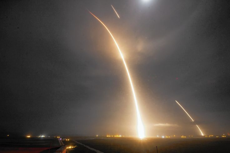 When  Elon Musk 's  SpaceX  rocket nailed its historic landing at Florida's Cape Canaveral on Monday night and the enormous dust cloud settled, it was more than an engineering feat hailed around the world.
