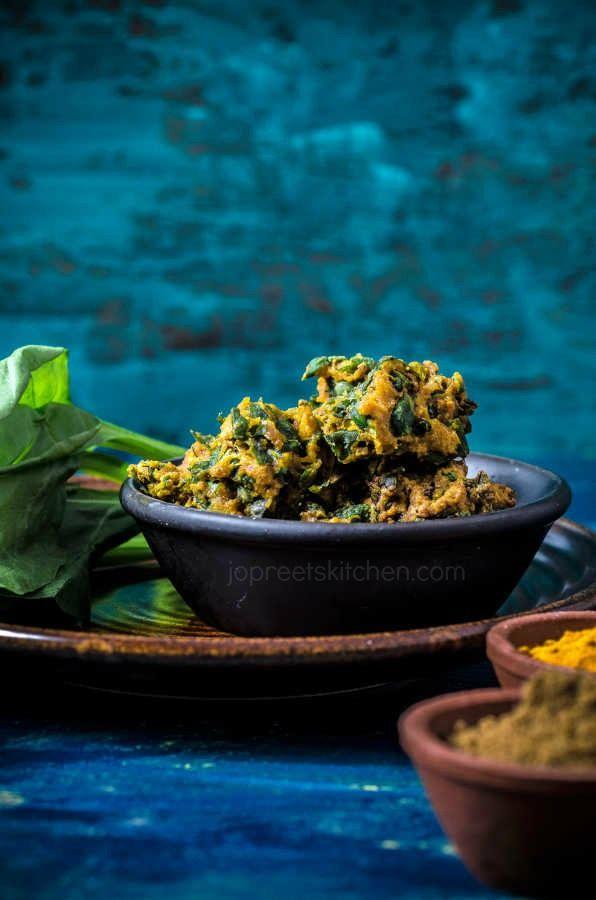Palak Bhajia Recipe, How to prepare Spinach Pakora