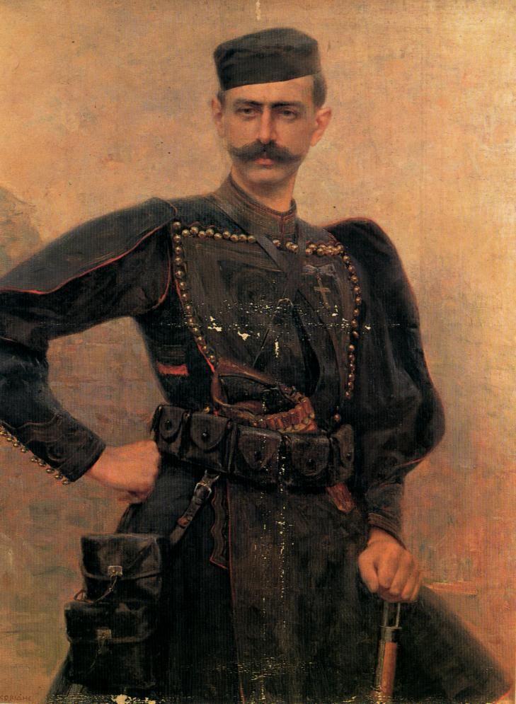 Μελάς (Pavlos Melas) Georgios Iakovidis (Γεώργιος Ιακωβίδης. Grecia, 1853-1932)
