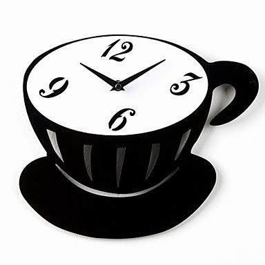 Reloj de pared Taza de Café | Relojes de Pared