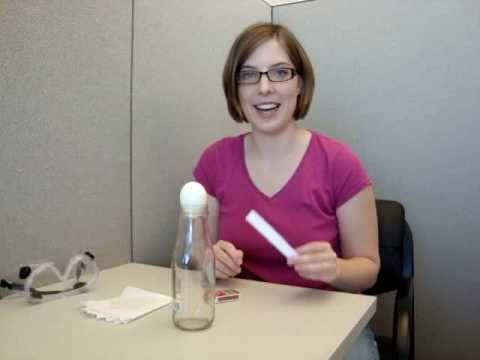 Esperimenti scientifici per bambini – L'uovo in bottiglia – Lapappadolce