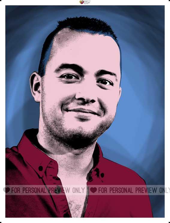 Al 12 jaar lang maken wij de leukste pop-art portretten van uw foto www.personal-art.nl
