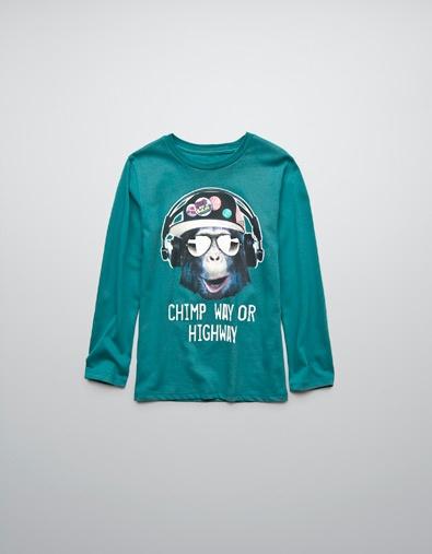 JUMPSUIT T-SHIRT WITH HEADPHONES - T-shirts - Boy (2-14 years) - Kids - ZARA