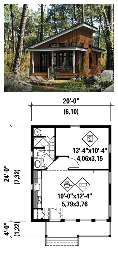 17 best images about small tiny house floorplans on for Narrow apartment plans