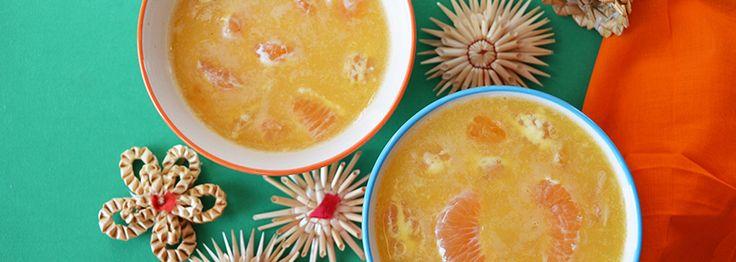 Gyerekbarát karácsony: egyszerű mandarinleves