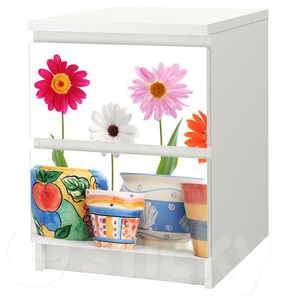 Furniture Sticker SPRING FLOWERS by Sticky!!!