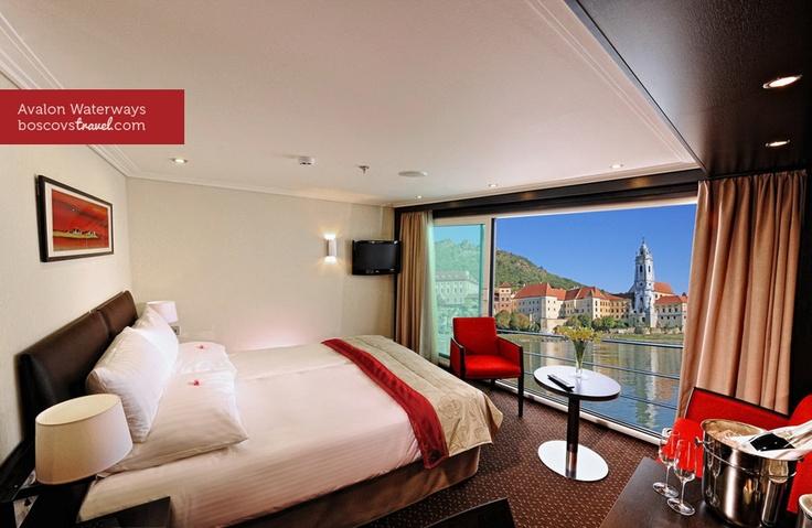 Avalon Waterways Suite with Panorama View #Travel #Cruise #RiverCruise #Panorama