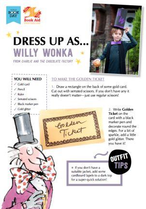 Willy Wonka dress up #WorldBookDay costume idea | The Works