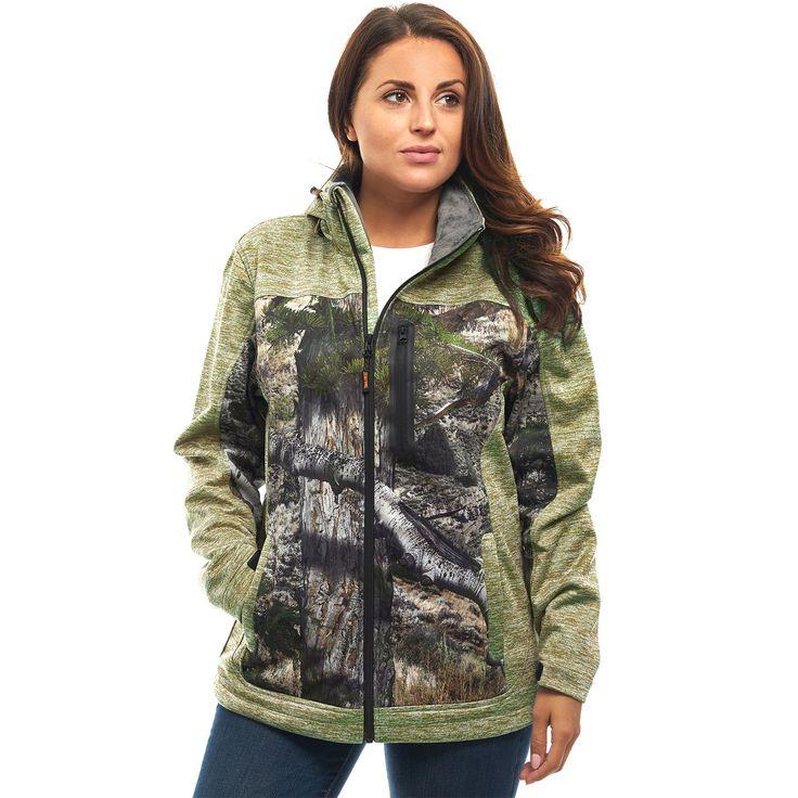 Veste camouflage customisee femme