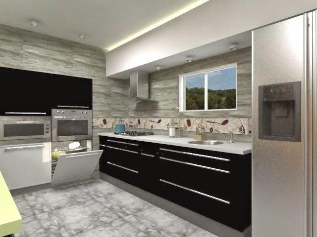 Cocinas de diseo moderno muebles de cocinas modernas for Amazon muebles de cocina