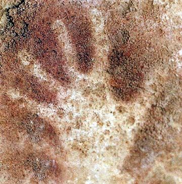 Prehistoric Cave Drawings. Cantabria, Spain