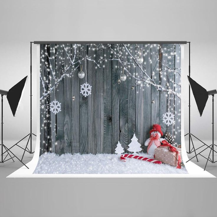 Christmas Backdrops Christmas Tree Backdrop Snowman Backgrounds J03608 – ibackdrop